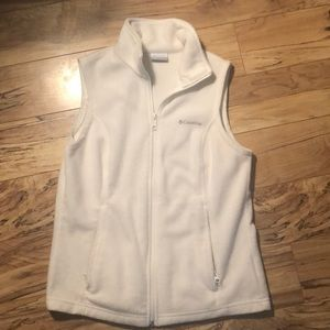 White Columbia Vest